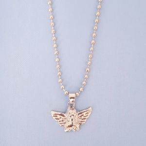 New Angel Pendant Ball Chain Necklace